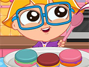 Cutezee'S Cooking Academy: Macarons game