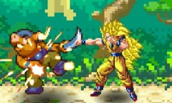 play Dragon Ball Z Fierce Fighting 2.2