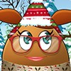 play Play Pou Girl Building A Snowman