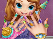 play Sofia The First Nail Spa