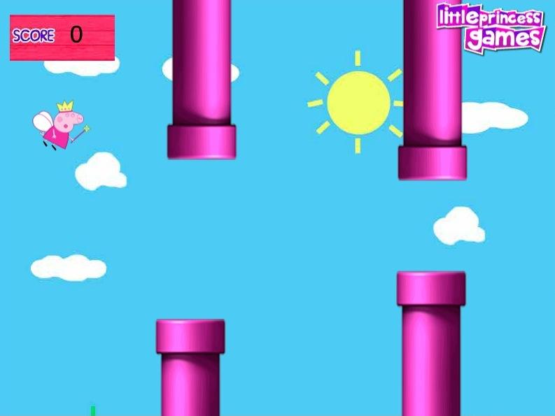 play Flappy Peppa Pig