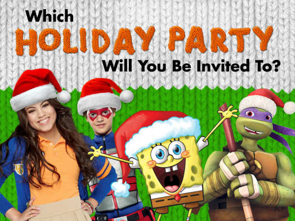 Which Holiday Party Will You Be Invited To? game