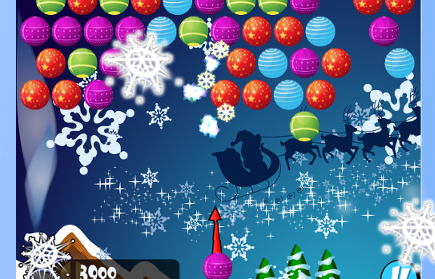 Bubble Shooter Christmas game