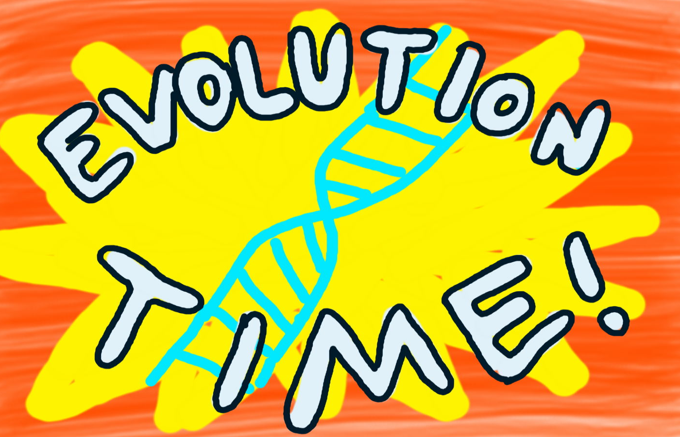 Evolution Time! game