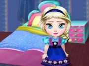 play Baby Elsa Room Decoration