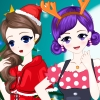 Christmasy Friends game