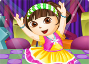 Dora Dancer Dress Up game
