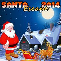 play Santa Escape 2014