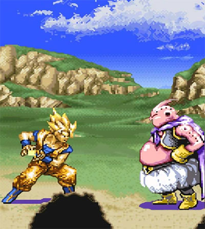 Dragon Ball Z: Hyper Dimension game