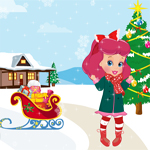 Baby Boo Christmas Decoration game