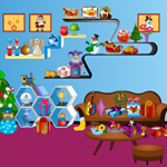 Hidden Christmas Objects game