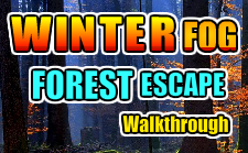 play Gamesnovel Winter Fog Forest Escape Walkthrough
