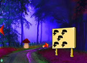 play Winter Fog Forest Escape