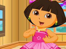 Dora Schoolgirl Dress Up game