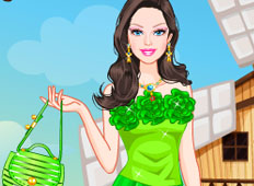 Barbie Summer Princess Dress Up game