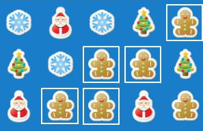 Christmas Stickers game