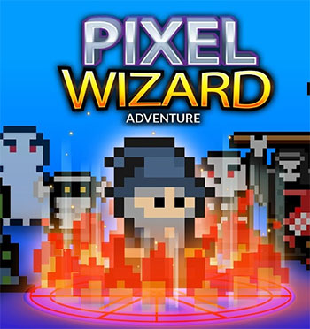 Pixel Wizard Adventure game