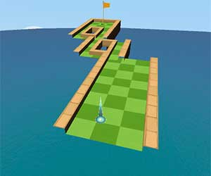 Impossible Miniature Golf game