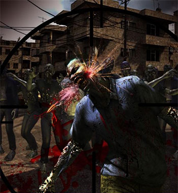 Sniper Assassin Zombies game
