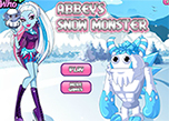 play Abbeys Snow Monster