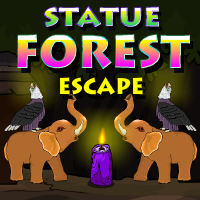 play Statue Forest Escape