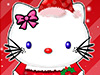 play Hello Kitty Christmas Makeover