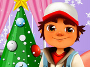 play Subway Surfer Christmas Kissing