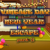 play Vintage Day New Year Escape 3