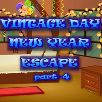 play Vintage Day New Year Escape 4