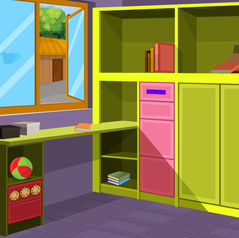 play Games2Jolly Purple Home Escape