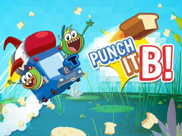Breadwinners: Punch It, B! game
