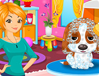 play Cute Puppy Salon