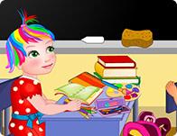 play Baby Juliet School Day