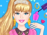 play Barbie Prom Nails Designer