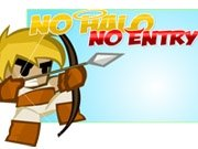 No Halo No Entry game