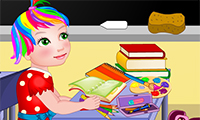 Baby Juliet: School Day game
