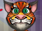 Talking Tom Face Tattoo game