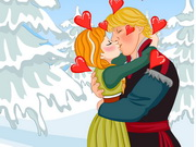 Frozen Anna Kissing game