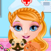 Baby Barbie Pet Doctor game