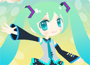 Project Diva Dressup game