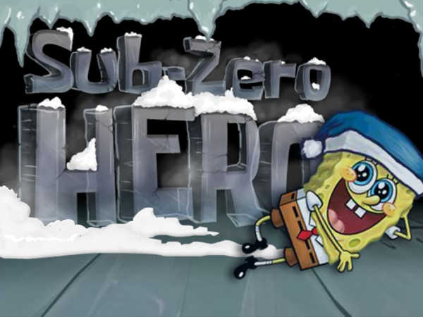 Spongebob Squarepants: Sub Zero Hero game