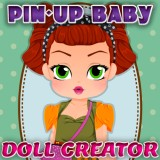 Pin-Up Baby Doll Creator game