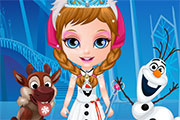 Baby Barbie Frozen Costumes game