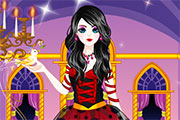Emo Snow White Dress Up game
