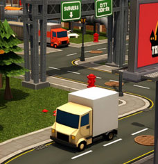 Toon 3D Parking – Delivery Dash game