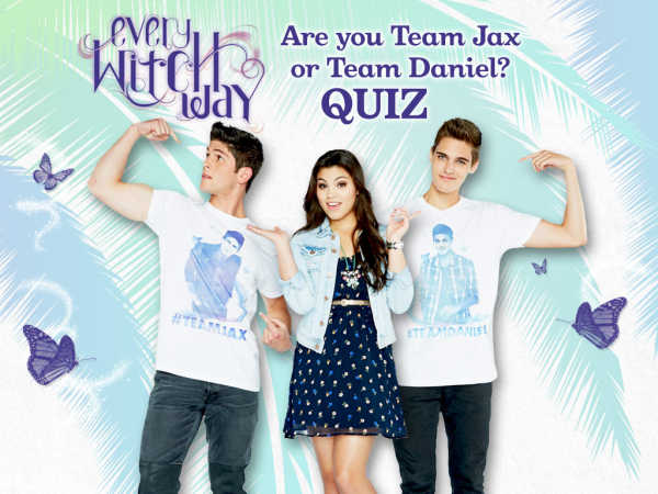every witch way are you team jax or team daniel quiz