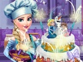 play Elsas Wedding Cake