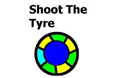 Shoot The Tyre game