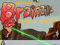 play Revenge Of Brainzilla: Bomb The Humans