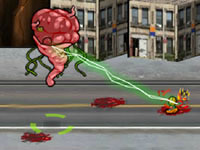 play Revenge Of Brainzilla - Bomb The Humans